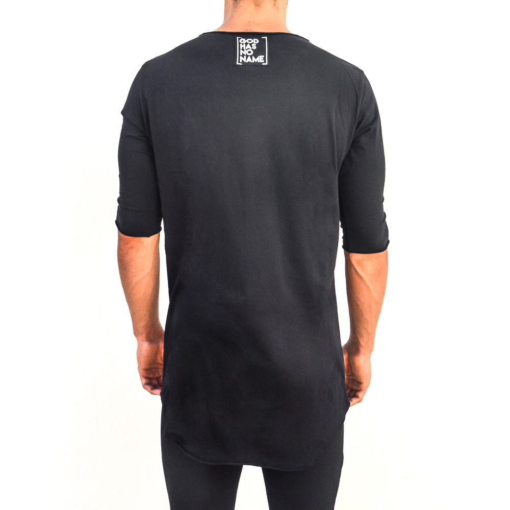Black t shirt front - 80 00 Inc Tax Black T Shirt With Front